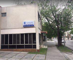 Fachada de Centurion en el Obispado, Monterrey