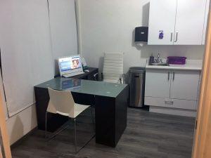 Oficina del consultorio de centurion cirugia maxilofacial